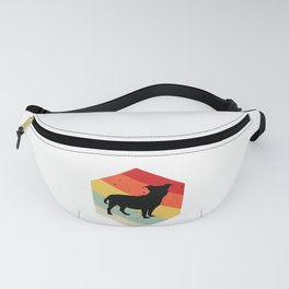 Red Staffordshire Bull Terrier graphic For Dog Lovers Cute Dog Fanny Pack