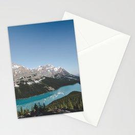 Peyto Lake Landscape | By Magda Opoka Stationery Cards