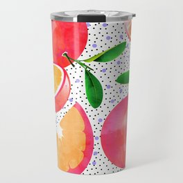Citrus Love #digitalart #citrus Travel Mug