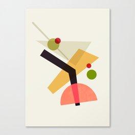 Cocktail IV Martini Canvas Print