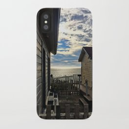 hostel not hostile iPhone Case
