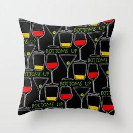 Bottoms Up Throw Pillow