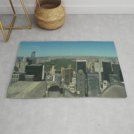 Central Park Aerial View Rug