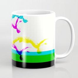 DIVE STRECH ART Coffee Mug