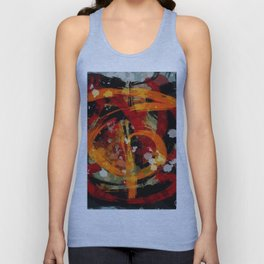 Into the dragon abstract  art Unisex Tank Top