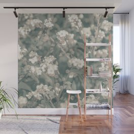 Beauty Floral Scene Photo Wall Mural