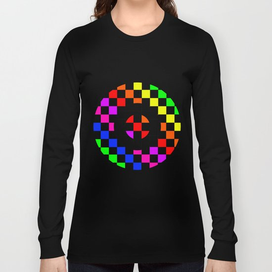 Triggle | Colorful Secret Geomoetry | Play Long Sleeve T-shirt