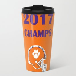 2017 National Champs: Clemson Tigers Travel Mug