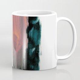 Abstract Brush Strokes 3X Coffee Mug