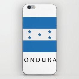 Honduras flag iPhone Skin