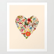 You Make My Heart Grow Art Print