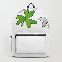 Shamrock Irish St Patricks Day Backpack