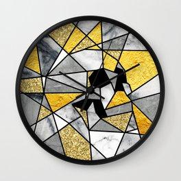 FRAGMENT SKULL Wall Clock