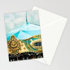 Love A Fair . . .  blue carousel Stationery Cards