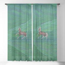 Wild horse Sheer Curtain