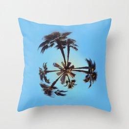 Long Beach, California Throw Pillow