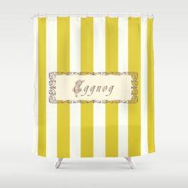 Eggnog Antique Shower Curtain