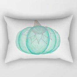 Boho Pumpkin Rectangular Pillow