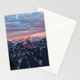 NC, Pink Mountains Stationery Cards