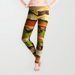Burger Me! Leggings