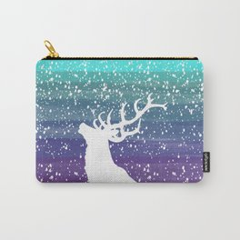 Deer in the Purple Dream Carry-All Pouch