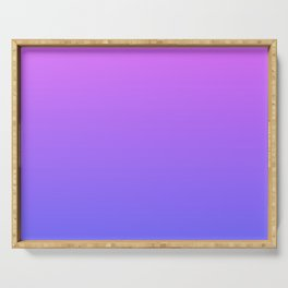 Violet and Blue Gradient Serving Tray