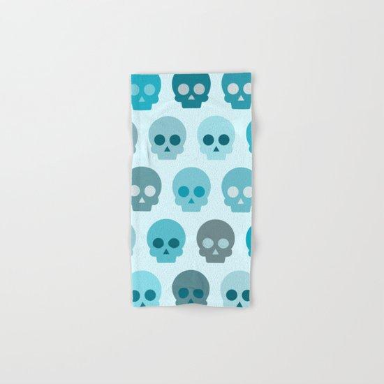 Colorful Skull Cute Pattern II Hand & Bath Towel