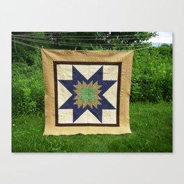 Star Quilt Canvas Print
