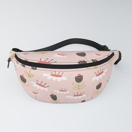 Chocolate flowers Fanny Pack