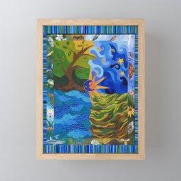 Circle of Life Framed Mini Art Print