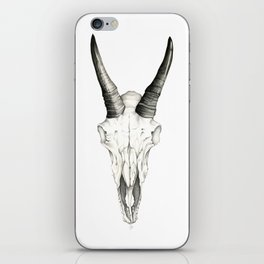 Mountain Goat Skull iPhone Skin