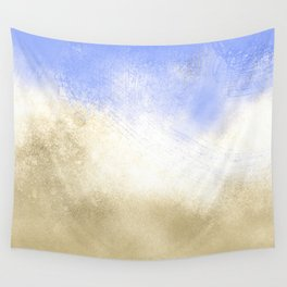 Ocean Waves Abstract Wall Tapestry