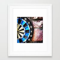 chess Framed Art Prints featuring chess by gzm_guvenc