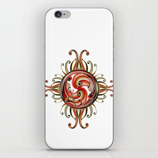 Paisley Redux iPhone & iPod Skin