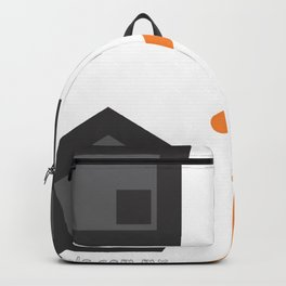 geometrical atraction glance Backpack