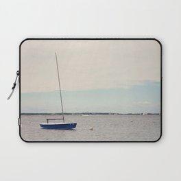 Alone on the Bay Laptop Sleeve