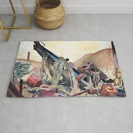 12,000pixel-500dpi - Colin Unwin Gill - First World War - Digital Remastered Edition Rug