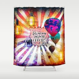 Join the Circus Shower Curtain