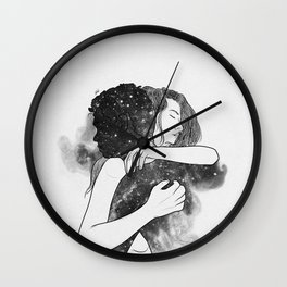 Never leave. Wall Clock