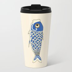 Koi Blue Travel Mug