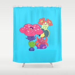 Odd Family Shower Curtain