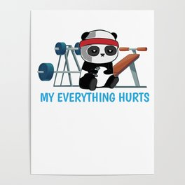 Weight Lifting Posters | Society6