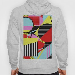 Retro Geometry - Geometric, abstract, bold design Hoody