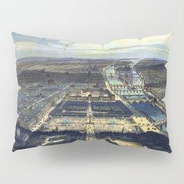 Vue générale de Paris Pillow Sham