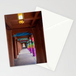 IAIA Museum Porch Santa Fe NM Stationery Cards