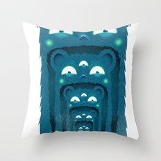 SALVAJEANIMAL BOCA Throw Pillow