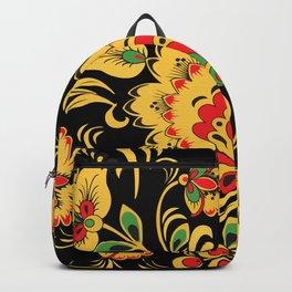 Khokhloma pattern Backpack