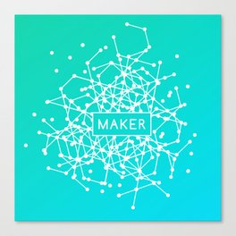 Maker System Canvas Print