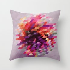Cluster bir Throw Pillow