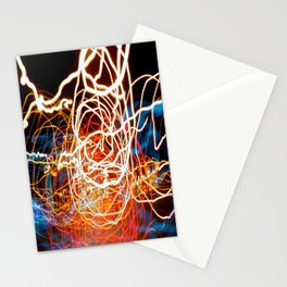 City (Light)s (Graffiti) 6 Stationery Cards